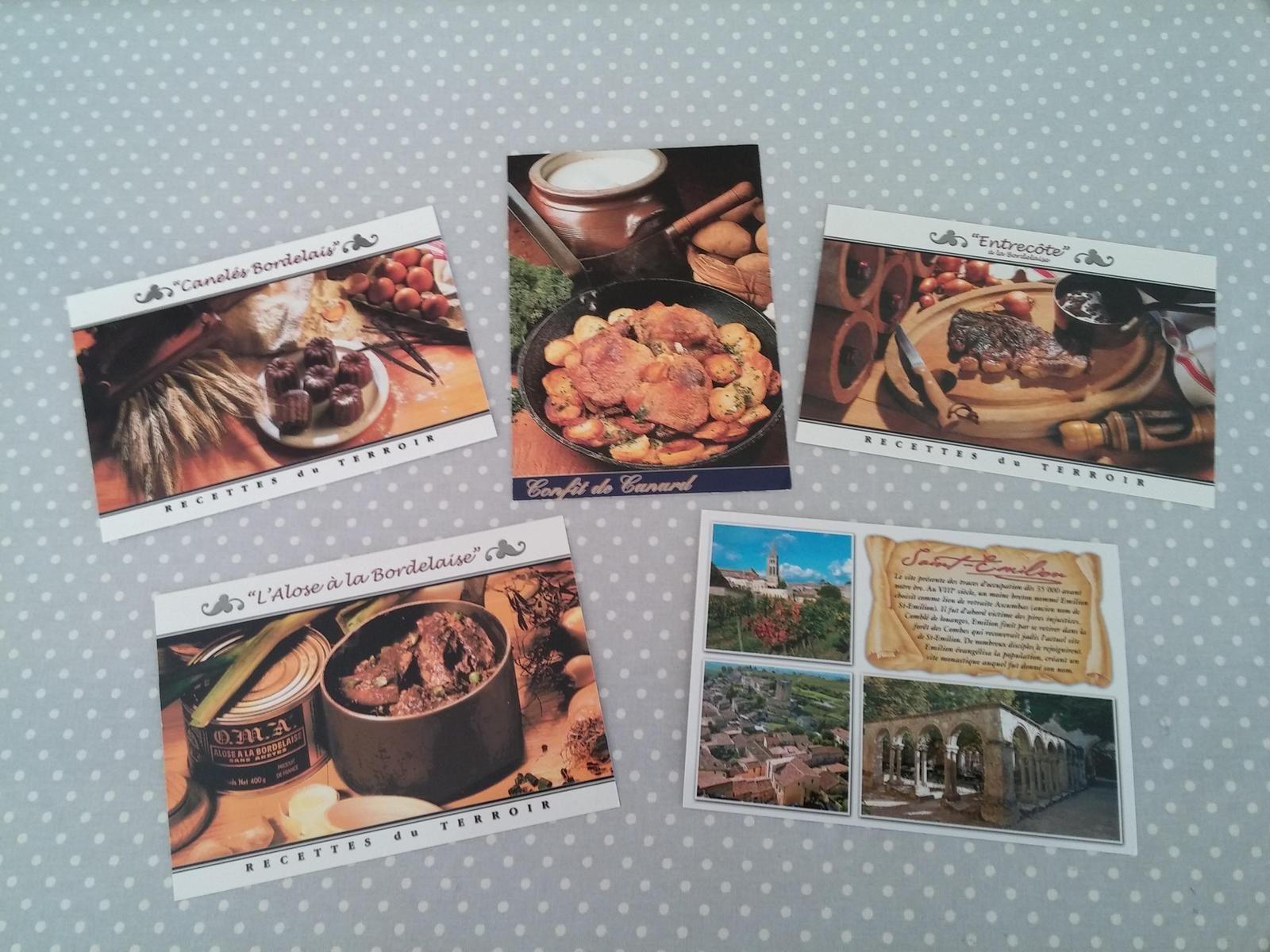 Cartes postales de Thomas et Christelle.....