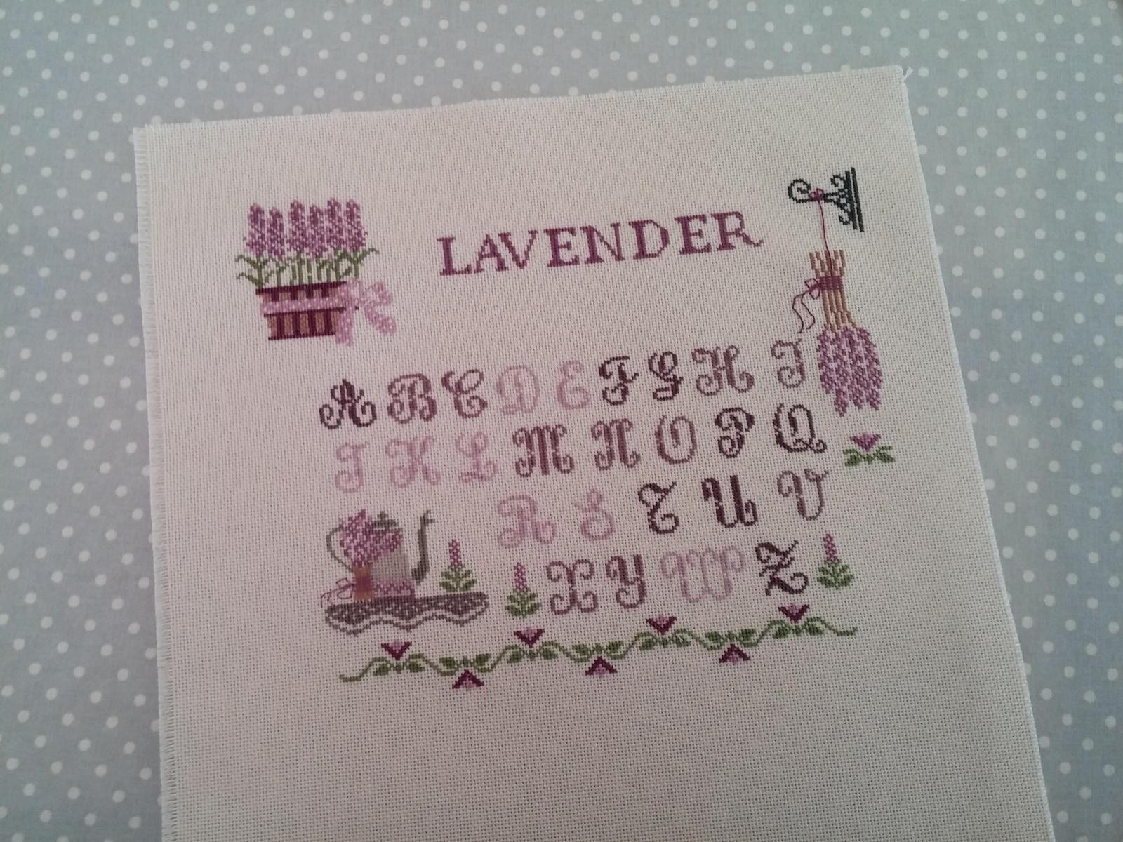 SAL Lavander sampler.....9