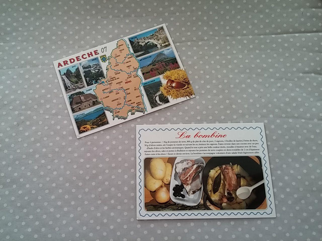 Cartes postales.....