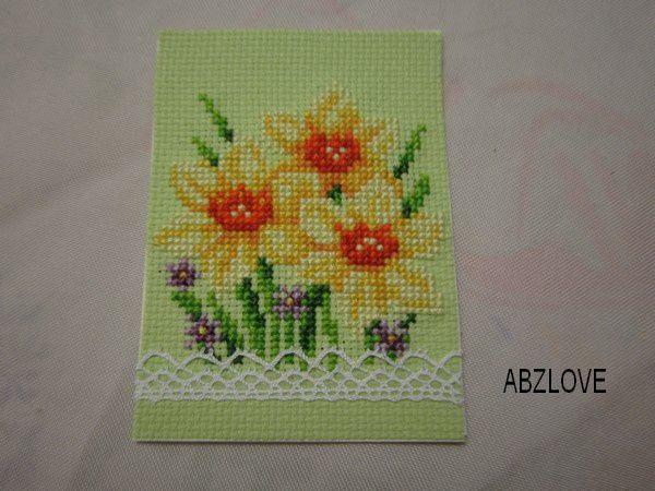 ATC fleurs....groupe 2