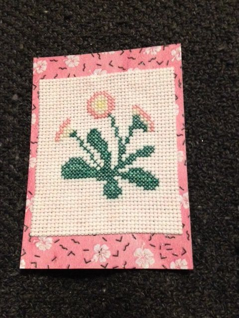 ATC fleurs...groupe 1