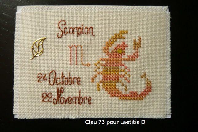ATC zodiaque...Scorpion
