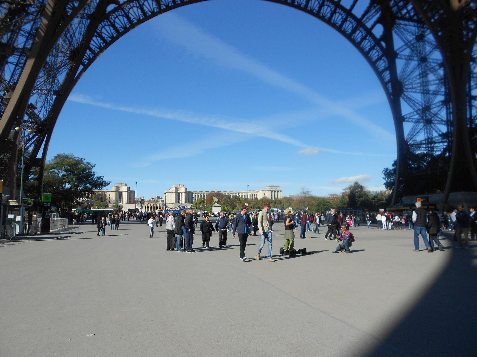 fin de la visite a paris