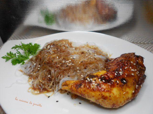 poulet laqué