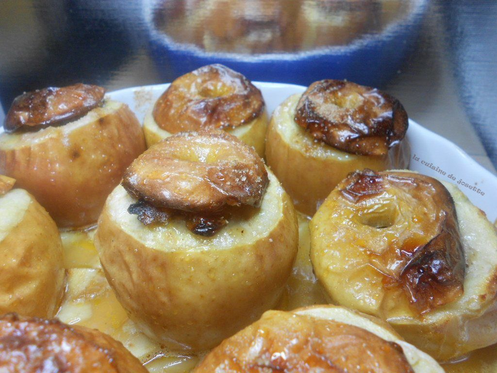 pommes farcies au four