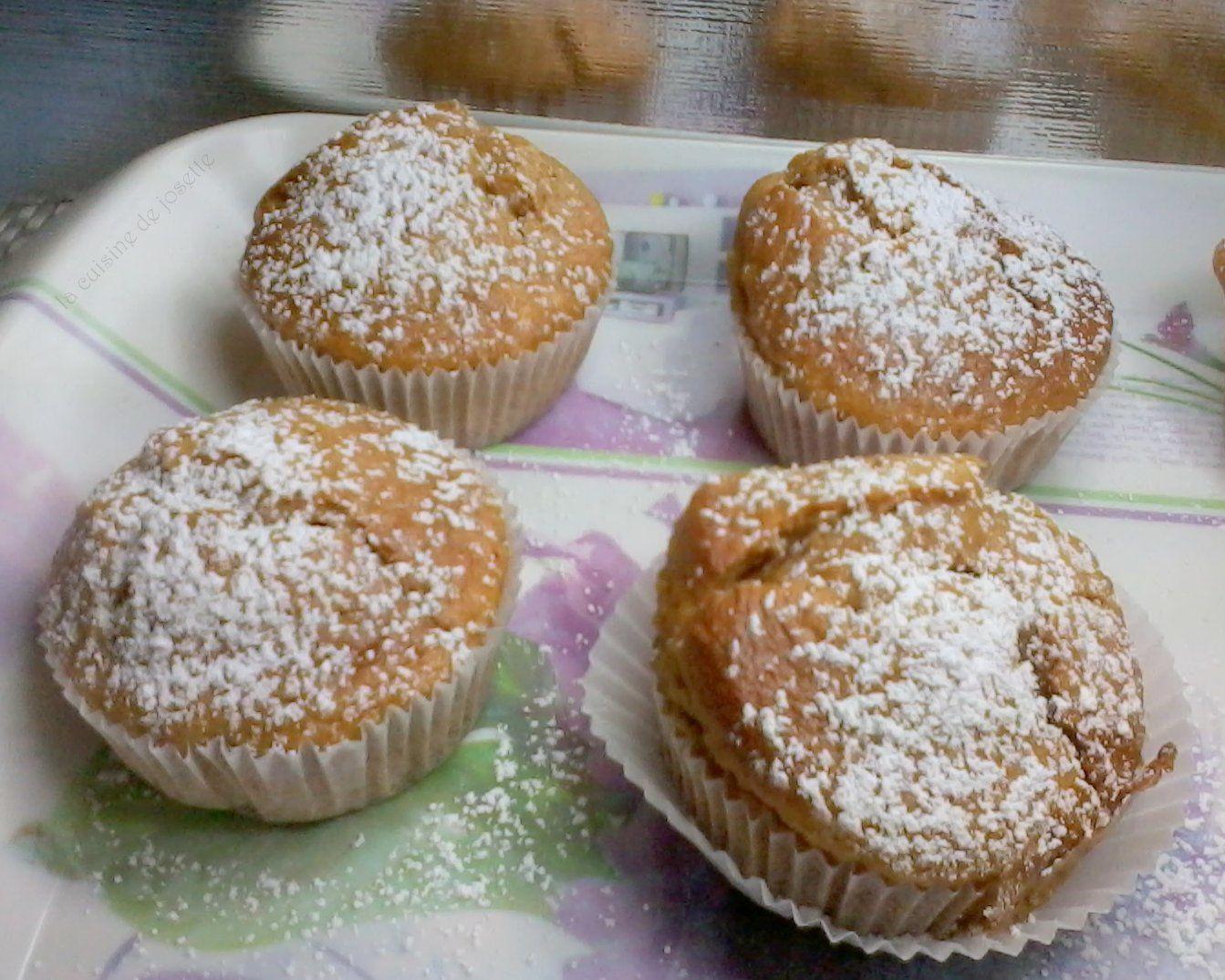 muffins a la confiture de lait