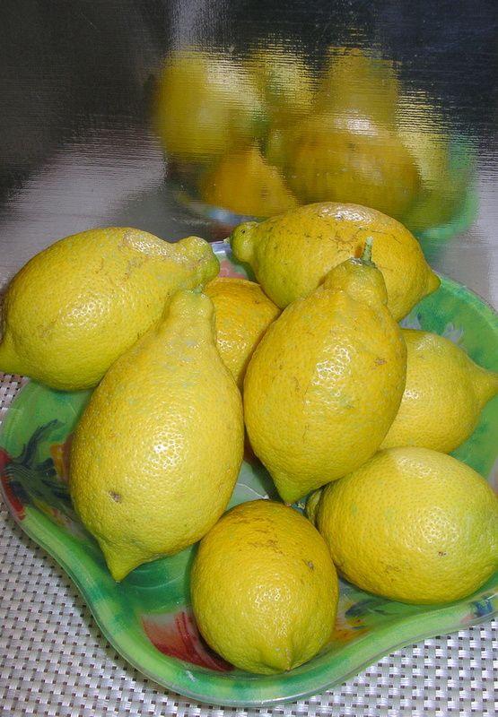 voila mes citrons