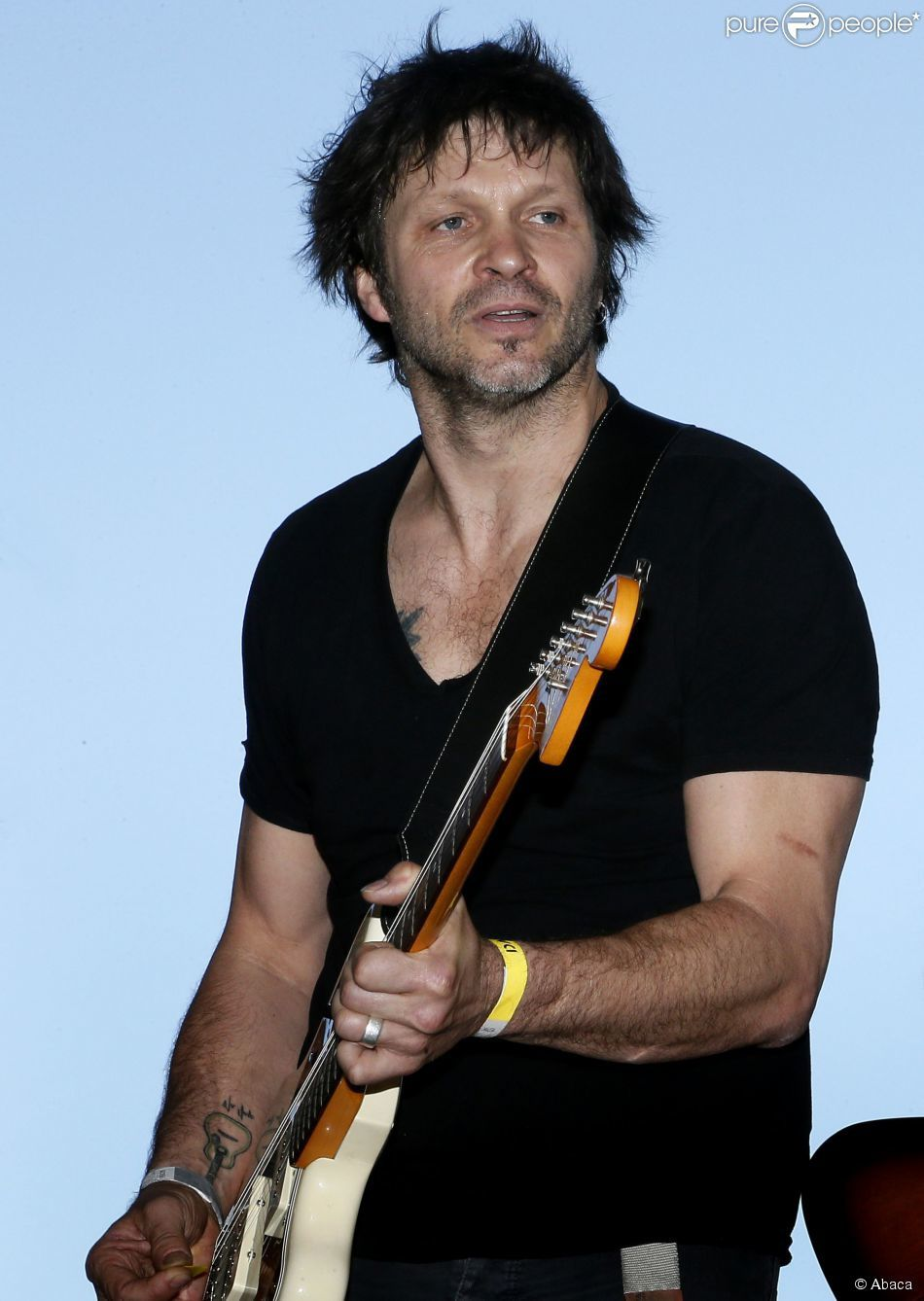 Bertrand Cantat, singer, lyricist and a founding member of Noir Désir.