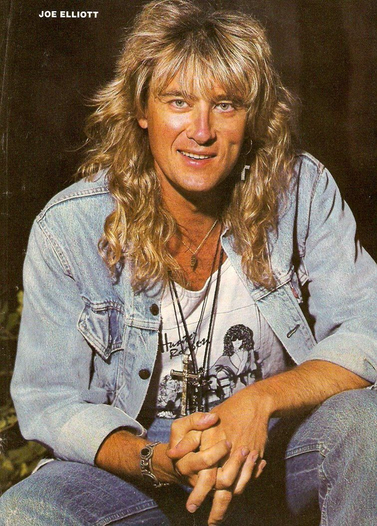 Joe Elliott, singer, songwriter and musician best known as the vocalist of Def Leppard