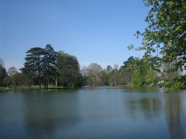 Le lac au mois d'avril