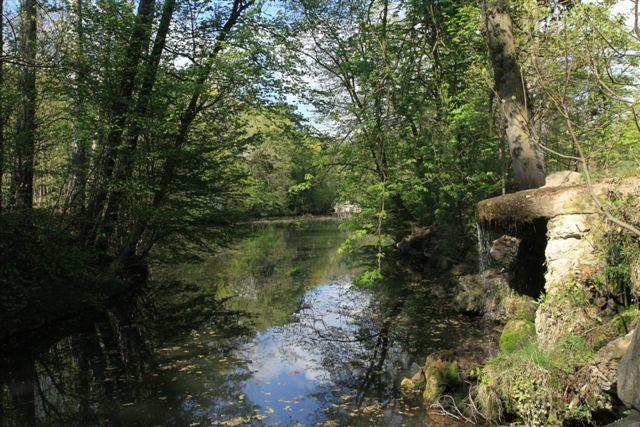 La cascade du lac des Minimes