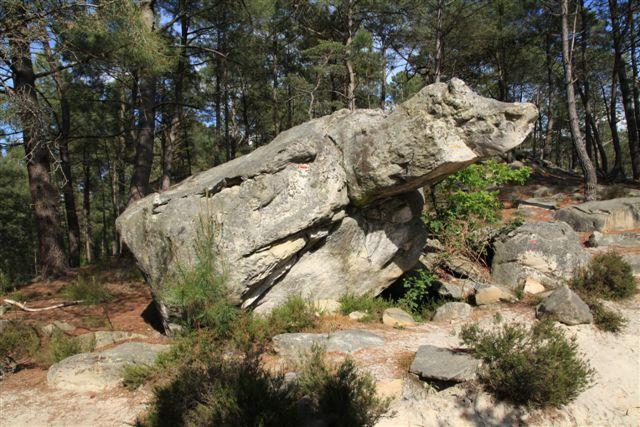 Le rocher de la Tortue
