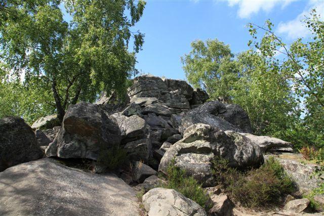 Le sommet du Mont Pivot