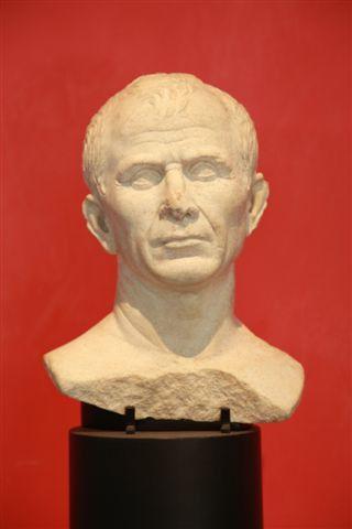 musée de l'Arles antique : buste de César