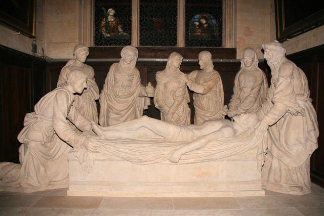 Paris mise au tombeau église Saint-Etienne du Mont
