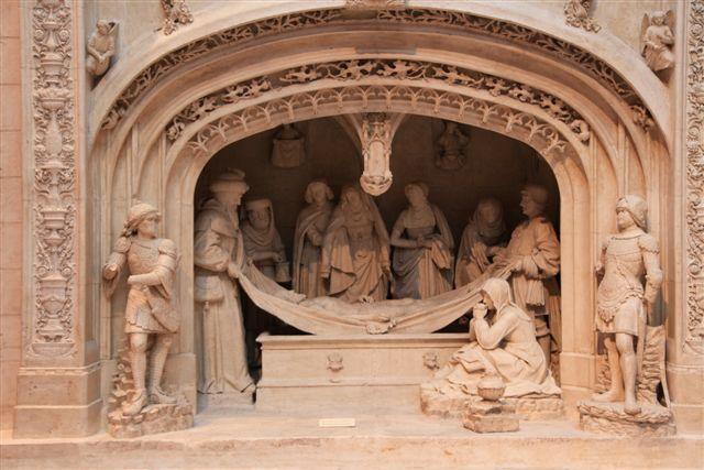 Solesmes mise au tombeau
