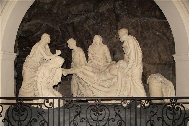 Paris mise au tombeau église Saint-Roch