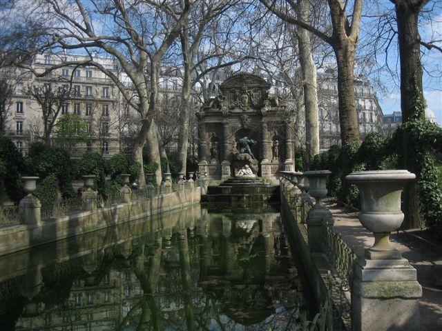Fontaines, bassins et jets d'eau du 6ème arrondissement de Paris
