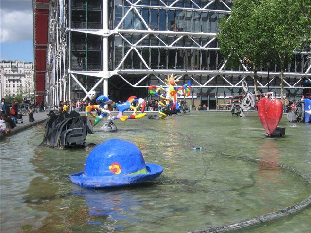 Fontaines, bassins et jets d'eau du 4ème arrondissement de Paris