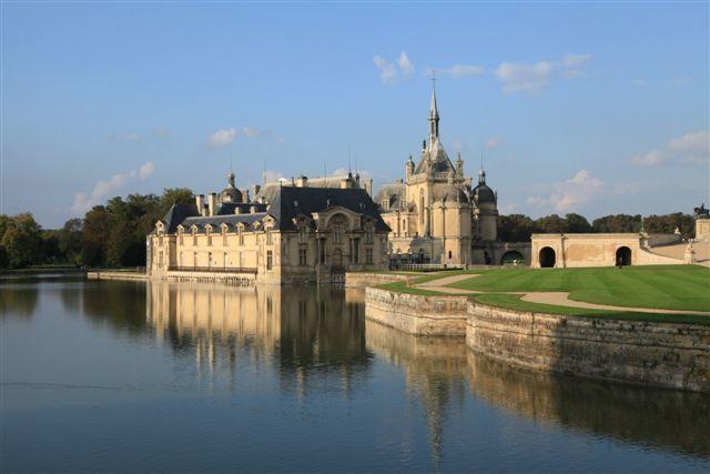Parc et château de Chantilly