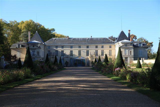 Le château côté cour d'honneur