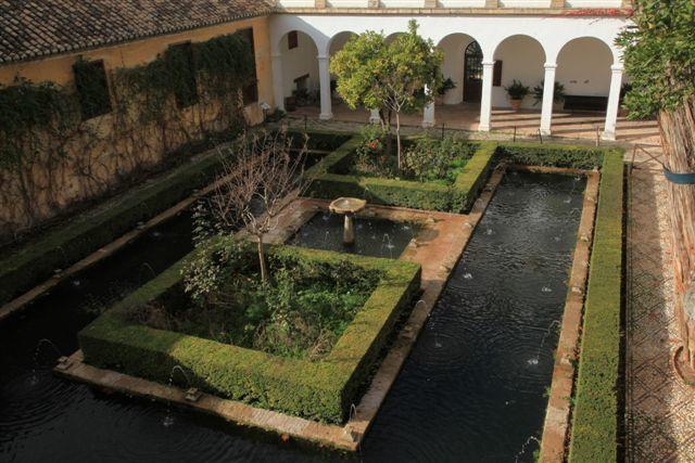L'Alhambra : le jardin d'eau