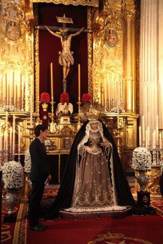 Séville, vierge de procession