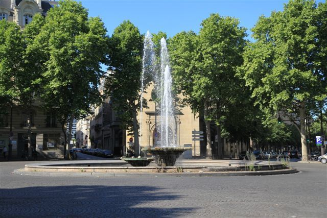 Fontaine place Victor Hugo