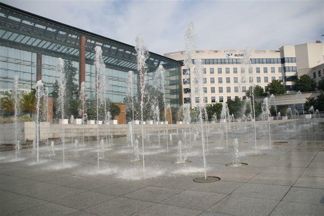 Fontaines, bassins et jets d'eau du 15ème arrondissement de Paris