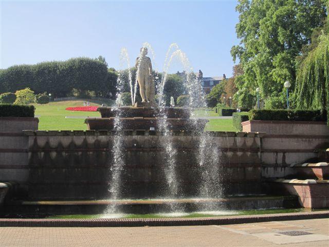 Fontaines, bassins et jets d'eau du 19ème arrondissement de Paris