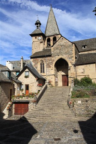 Estaing : l'église