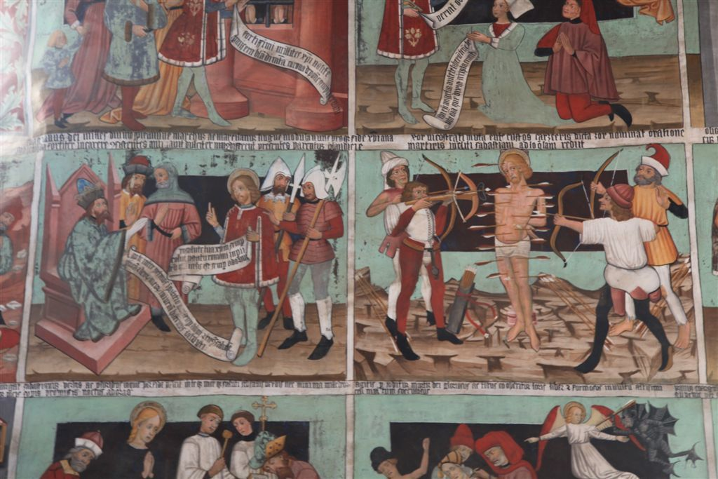 Le martyre de Saint-Sébastien