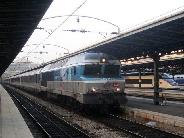 Locomotive CC 72147 à Gare de l'Est