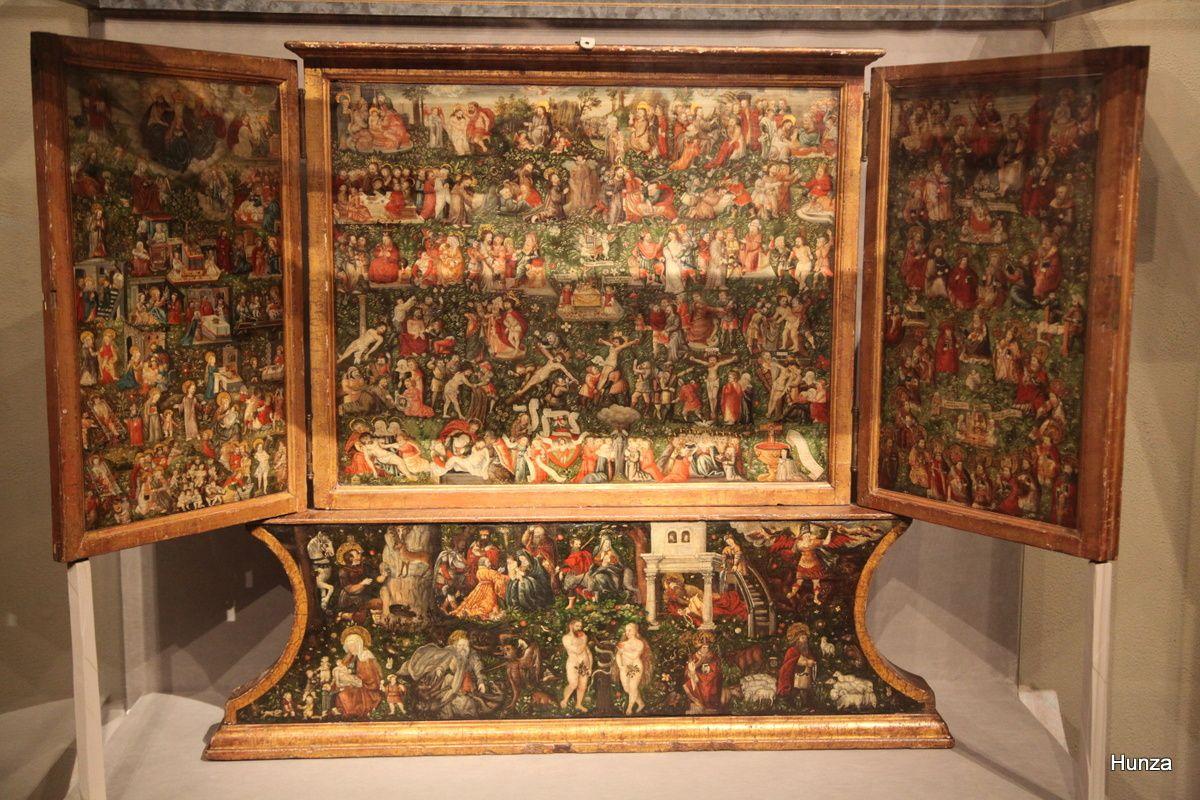 Musée Rolin : triptyque de l'ancien et du nouveau testament