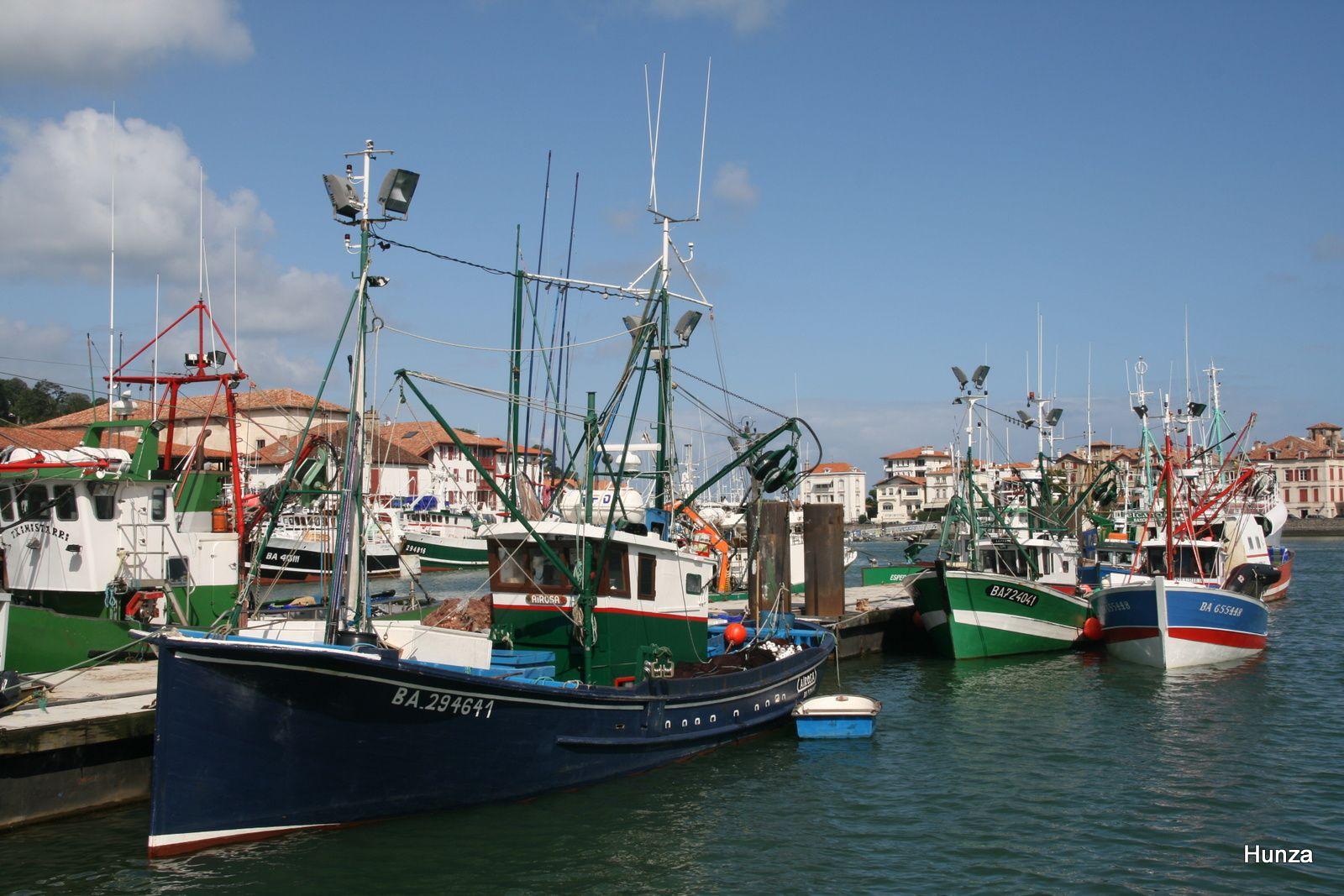 Construit en 1953, l'Airosa est le plus vieux bateau de pêche de Saint-Jean de Luz