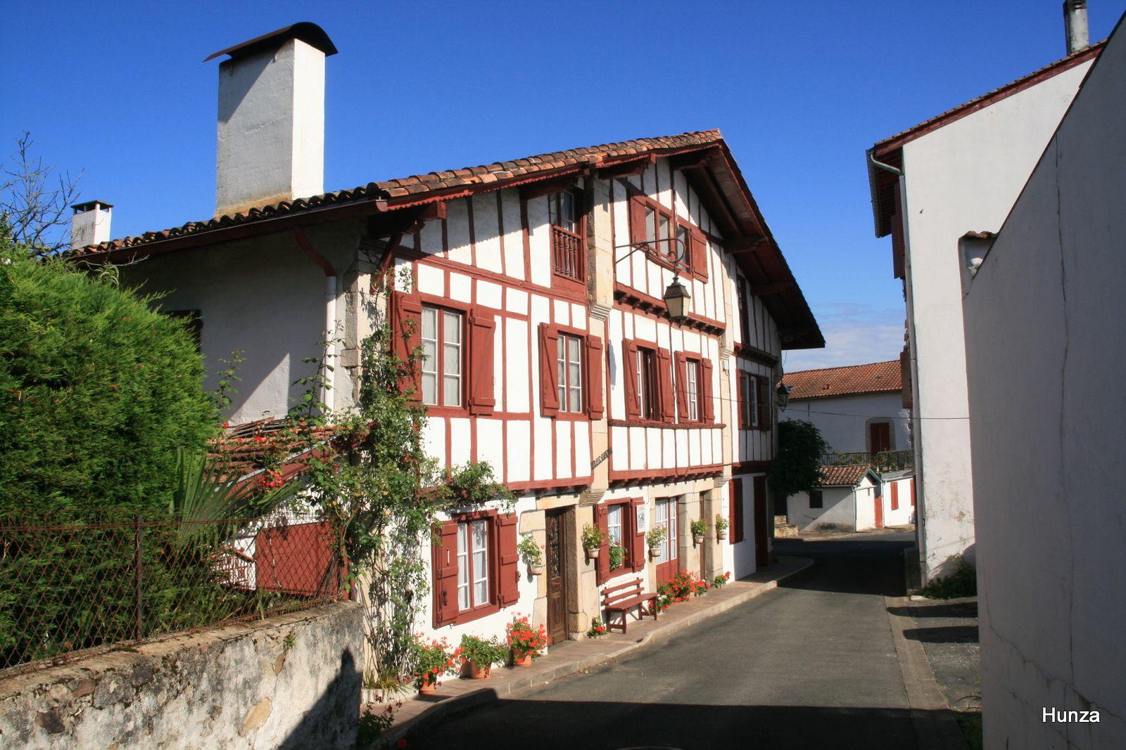 Etxe Chourria Xuria : c'est l'une voire la plus vieille maison d'Ascain