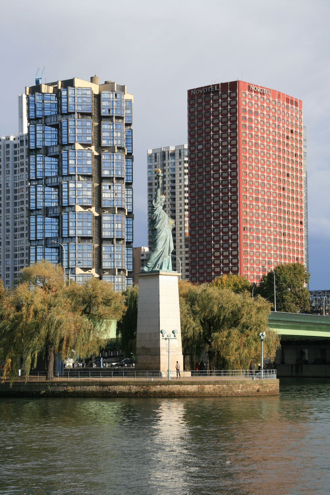 Paris, statue de la liberté
