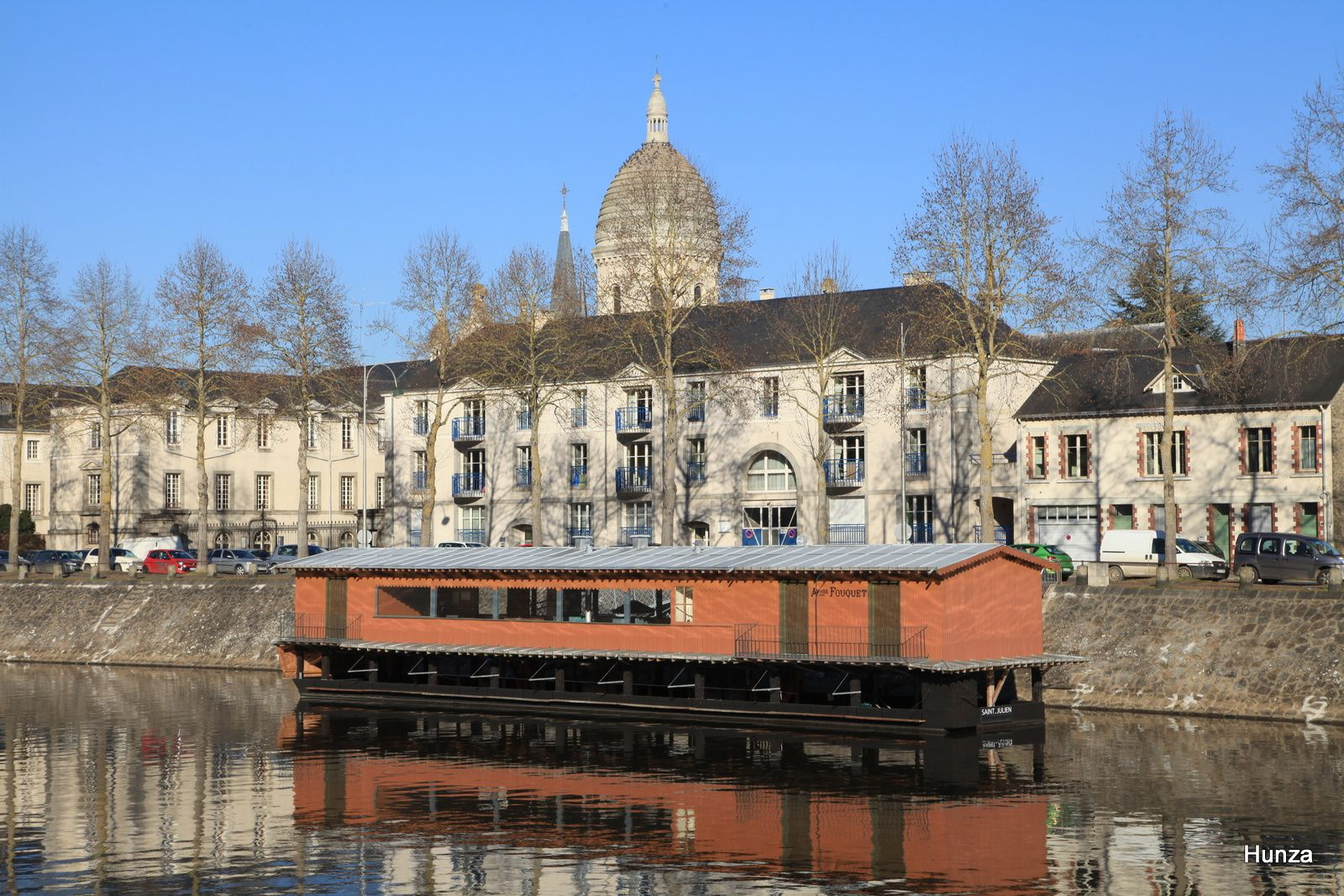 Le bateau-lavoir Saint Julien