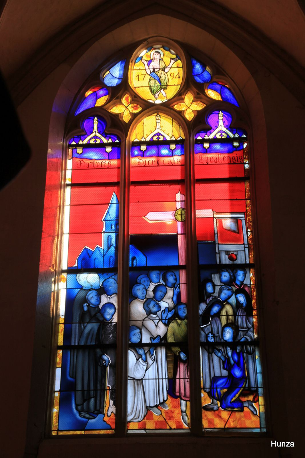 Vitrail de la cathédrale de Laval