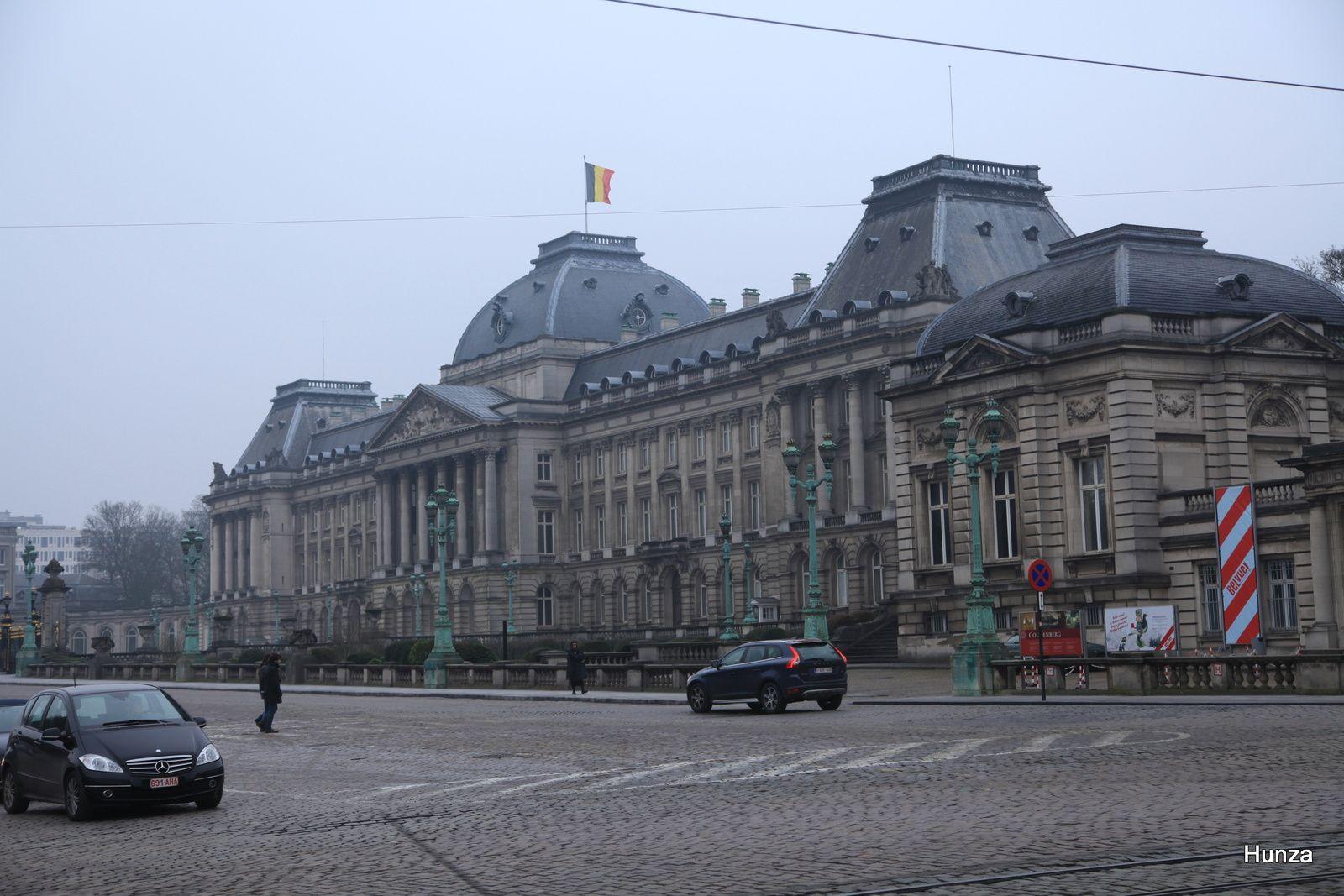Bruxelles, le Palais royal