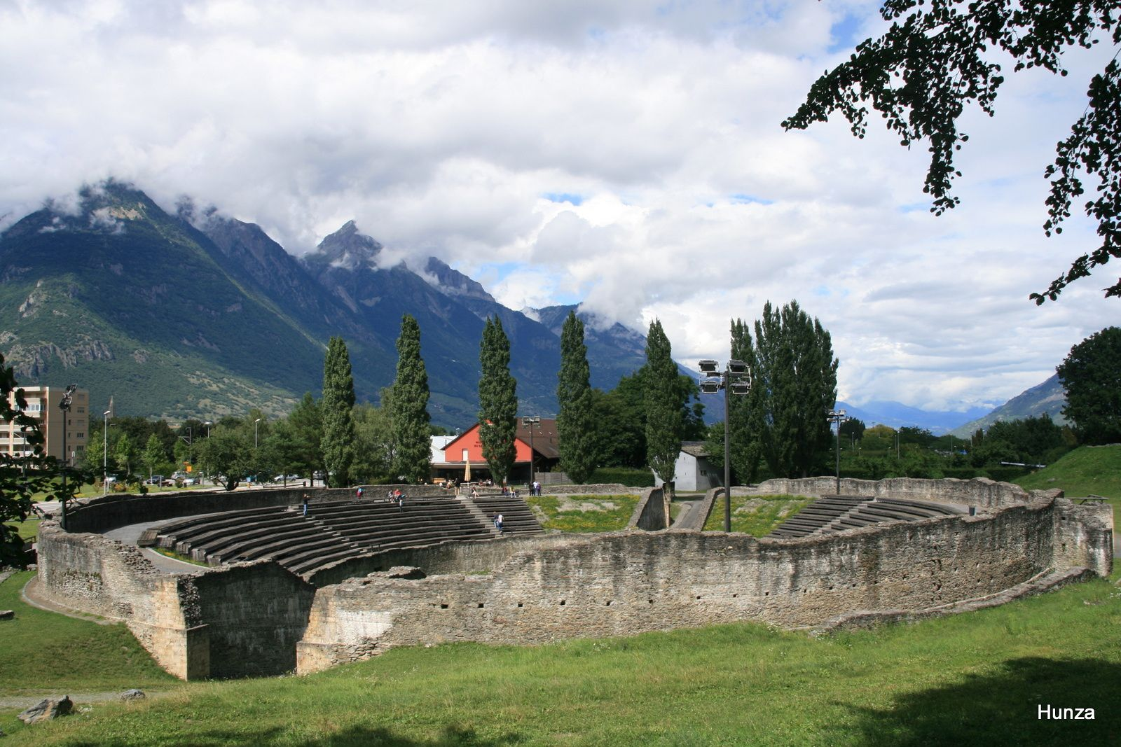Martigny, l'amphithéâtre romain