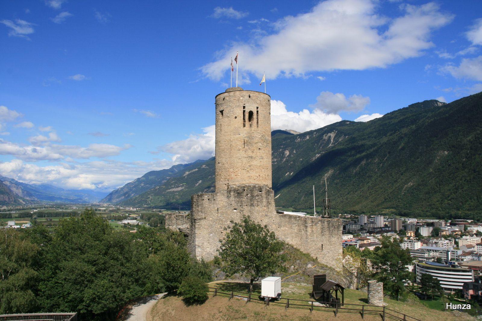 Martigny, le château La Bâtiaz
