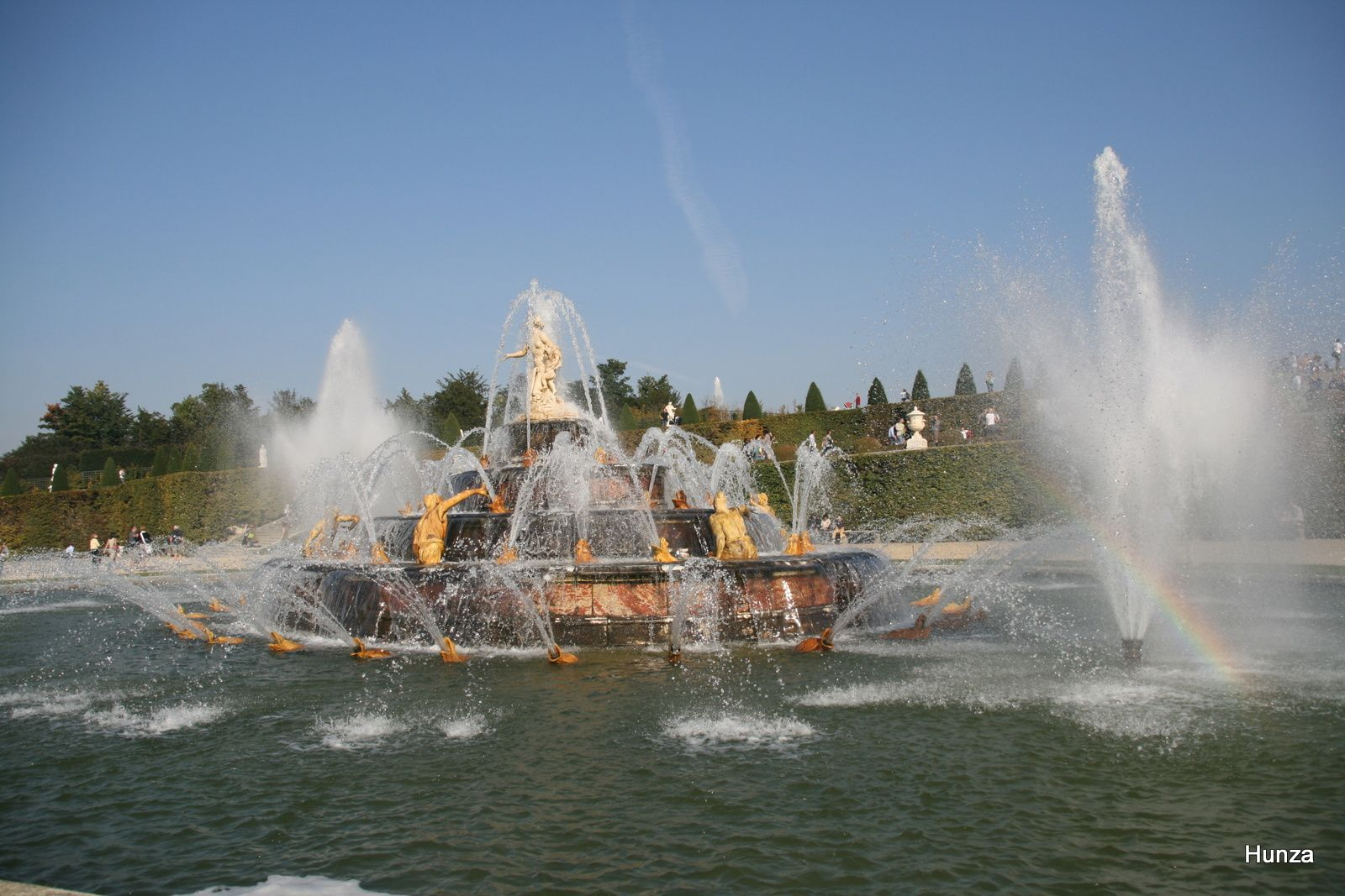 Versailles, bassin de Latone