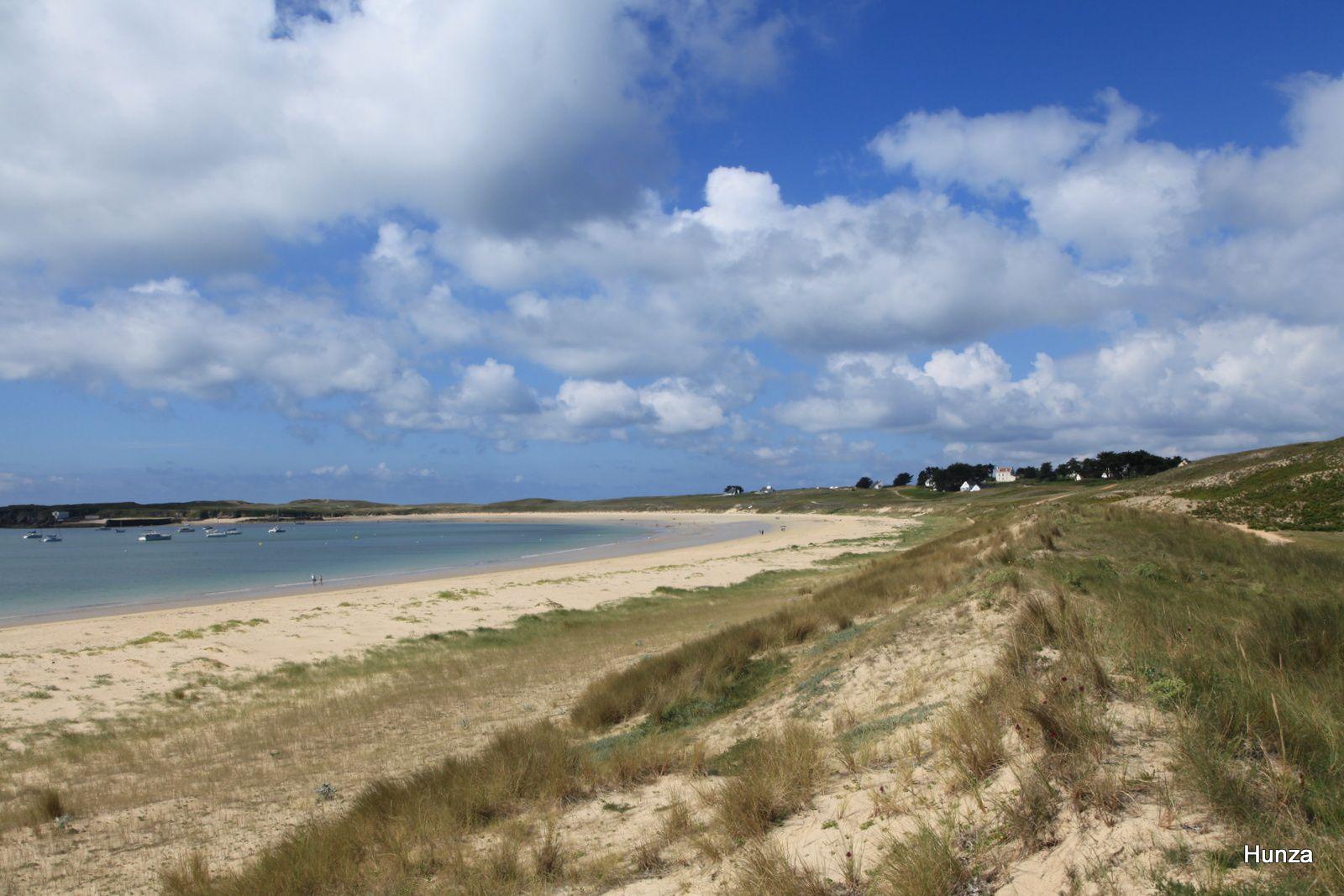 Grande plage appelée aussi Tréac'h er Gourèd
