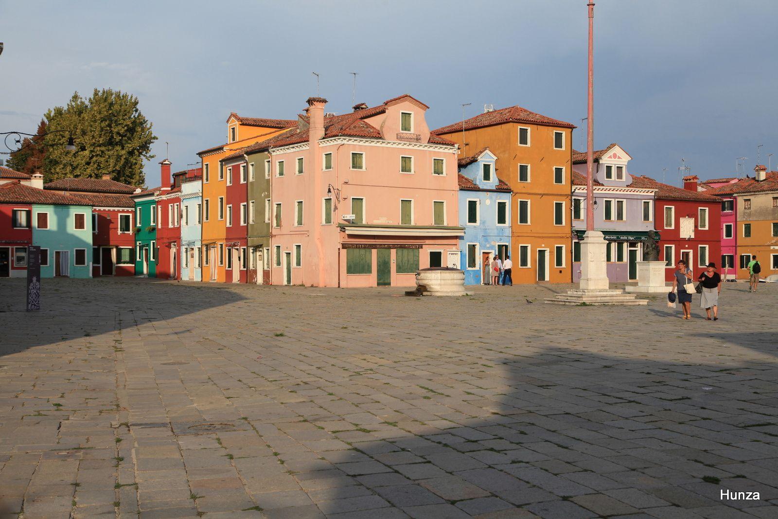 Burano, piazza Galuppi