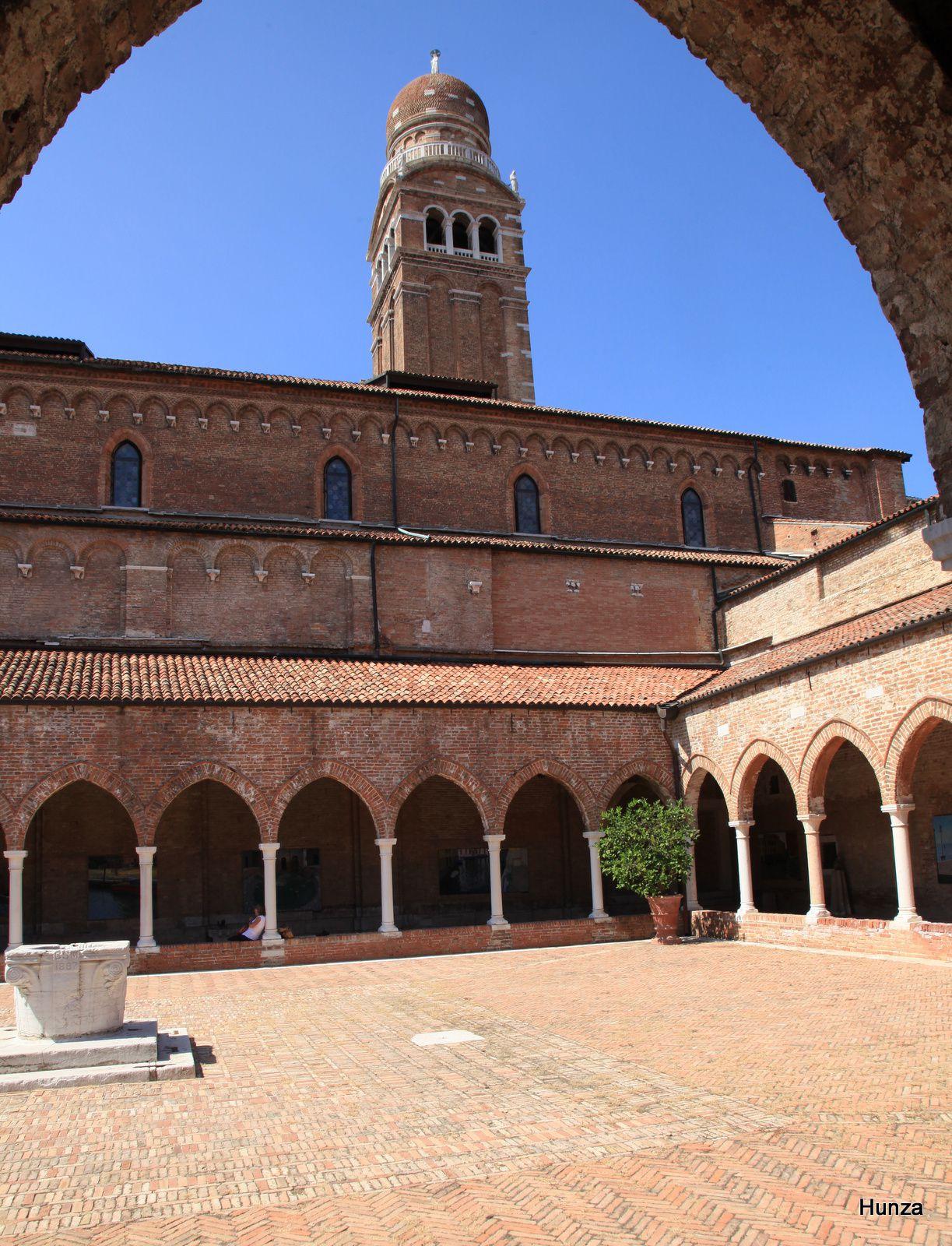 Venise, cloître de l'église Madonna delle'Orto