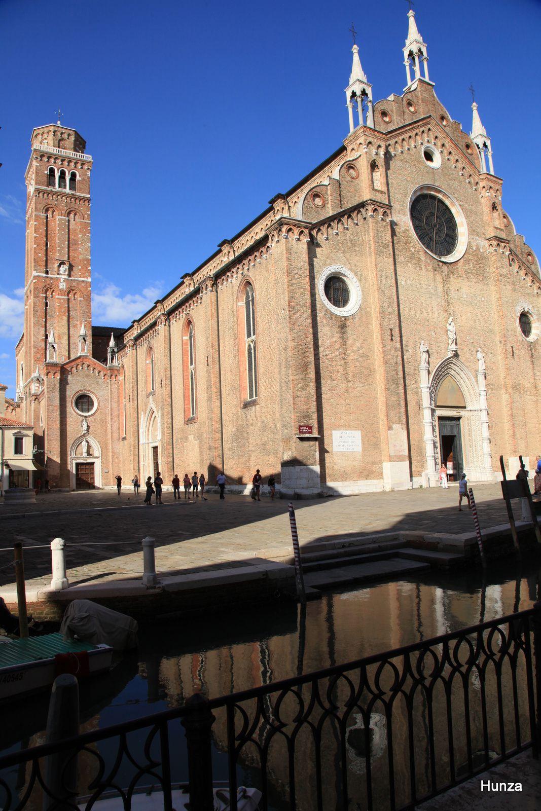 Venise, l'église Santa Maria Gloriosa dei Frari
