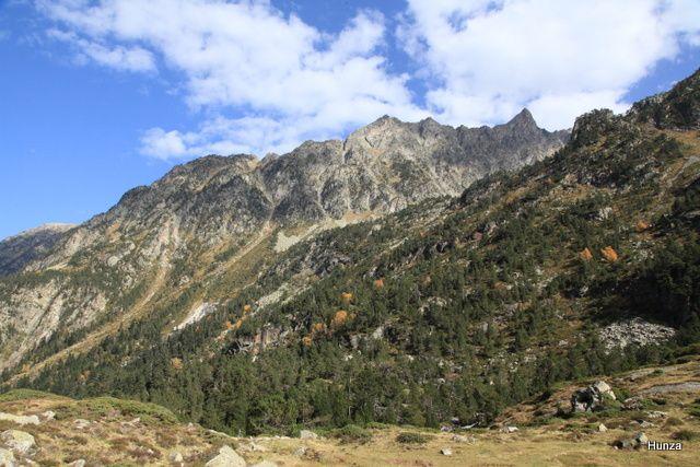 Vallée de Lutour, le pic de Culaus