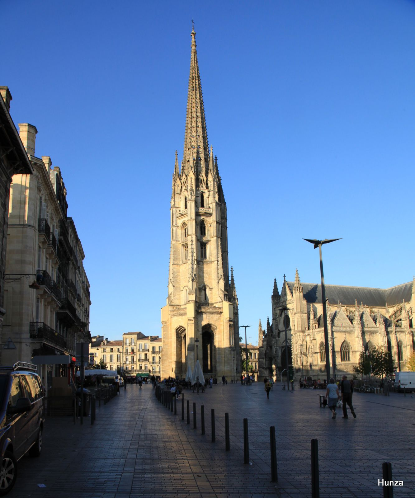 Bordeaux, clocher de la basilique Saint-Michel