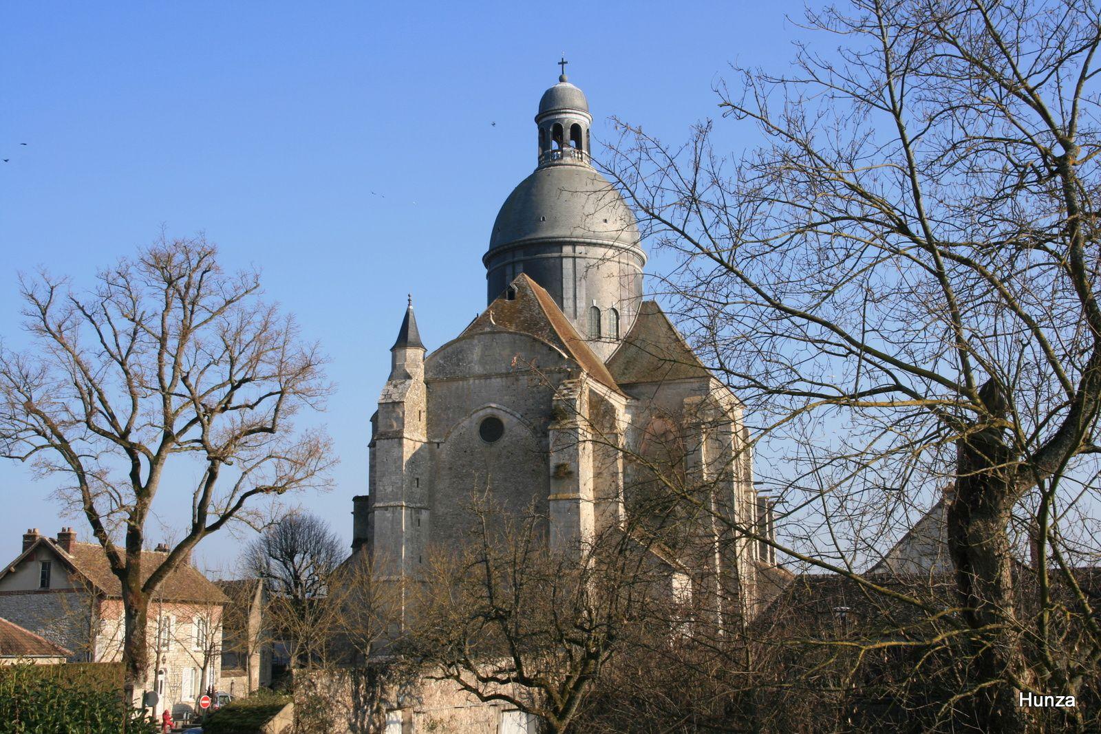 Provins : l'église Saint-Quiriace